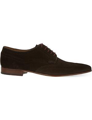 PAUL SMITH Aldrich suede Derby shoes