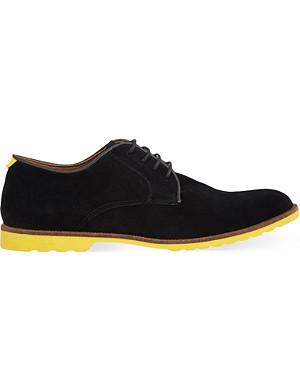 KG KURT GEIGER Ravenshead suede Derby shoes