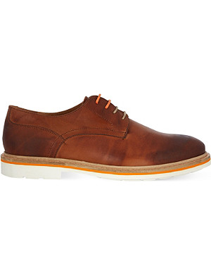 KG KURT GEIGER Oxton burnished Derby shoes