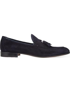 STEMAR Suede tassel loafers