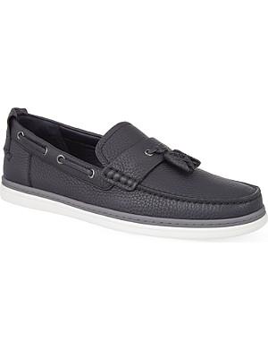 ERMENEGILDO ZEGNA Newport tassle loafers