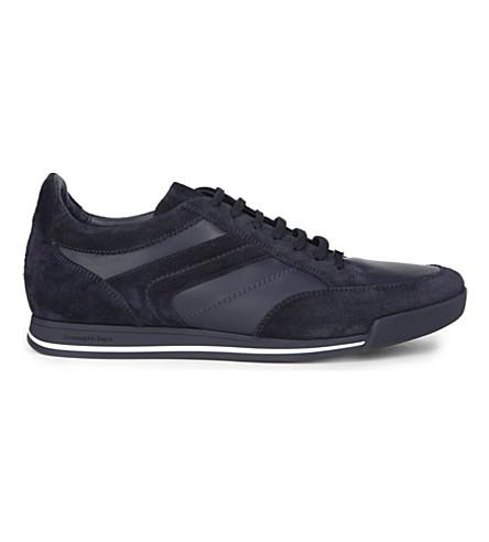 ERMENEGILDO ZEGNA Milano lo pro shoes (Navy