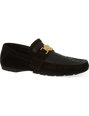 VERSACE New Medusa driving shoes
