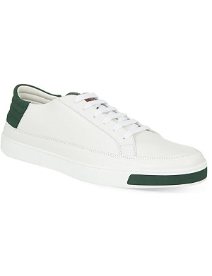 GUCCI Leather low-top trainers