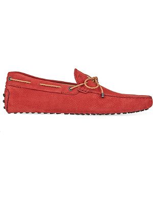TODS Scooby Doo nubuck driving shoes