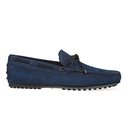 TODS City Gomm Scooby Doo driving shoes (Navy