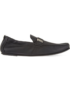 FERRAGAMO Dendo 2 elastic driving shoes