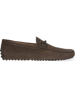 TODS Plaited horsebit driving shoes