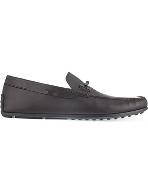 TODS Tube spider loafers