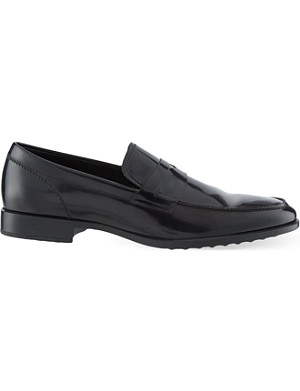 TODS Penny Spatz loafers