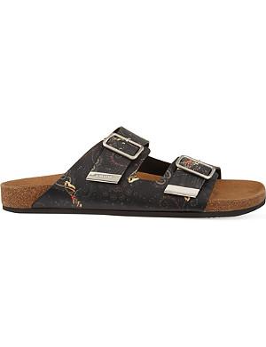 GIVENCHY Paisley print sandal