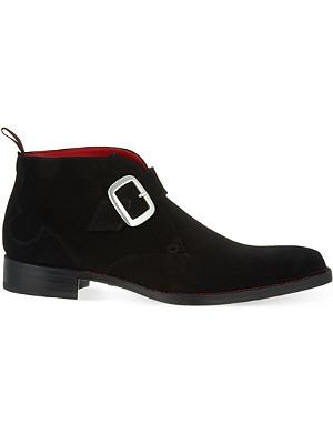 JEFFERY WEST Doomsday suede chukka boots