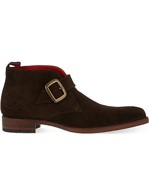 JEFFERY WEST Doomsday suede chukka boots