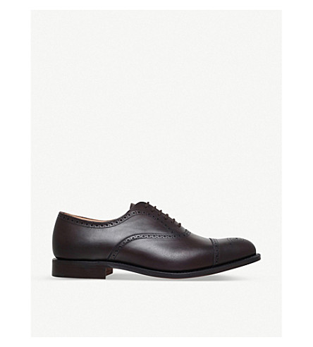 CHURCH Toronto Oxford shoes (Dark+brown