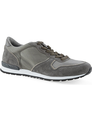 TODS Mesh & suede runner trainers