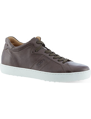 TODS Casette mid-top trainers