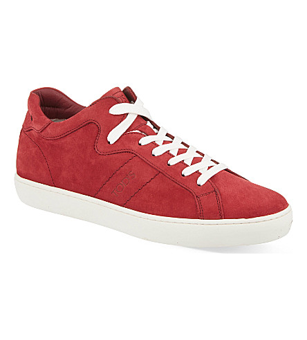 TODS Casette mid-top trainers (Red