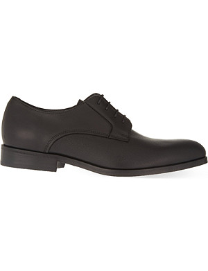 LANVIN Raw Edge combo Derby shoes