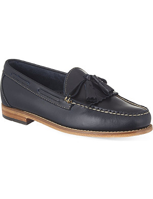BASS WEE JUNS Layton tasselled leather Loafers