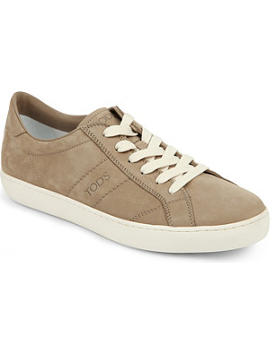 TODS Low suede trainer