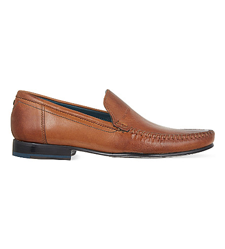 TED BAKER Simeen II leather loafers (Tan