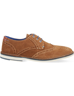 TED BAKER Jamfro suede Derby shoes