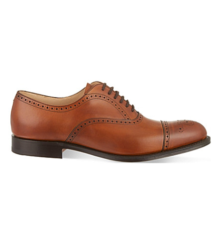 CHURCH Toronto brogue Oxford shoes (Tan