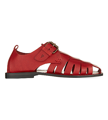OPERA DARTE Massa fisherman sandals (Red