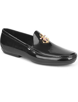 VIVIENNE WESTWOOD PVC Anchor loafers