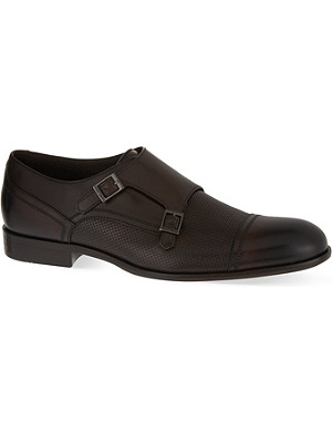 HUGO BOSS B Brodis double monk shoes