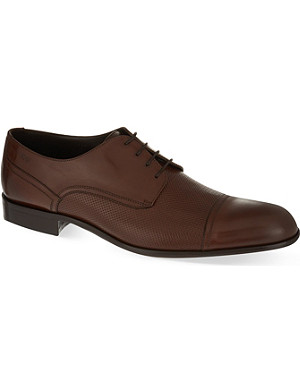 HUGO BOSS Broders woven Derby shoes
