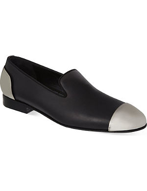 LOUIS LEEMAN Metal toecap slippers