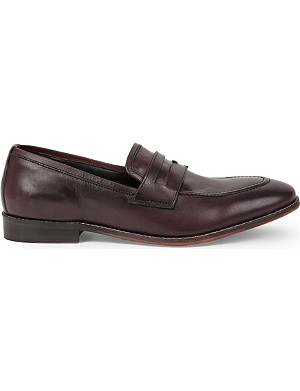 KG KURT GEIGER Wyatt leather loafers