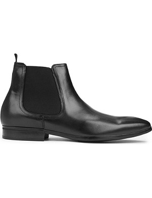 KURT GEIGER LONDON Gerald leather Chelsea boots