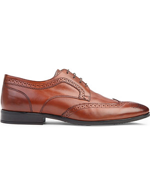 KURT GEIGER LONDON Vincenso leather brogues