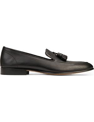 KURT GEIGER Alessandro leather tasselled loafers
