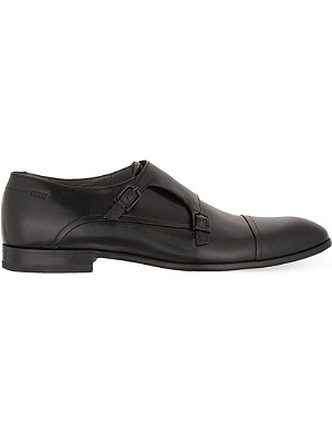 HUGO BOSS C-Drennos double monk shoes