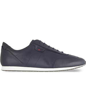HUGO BOSS Irvings leather trainers