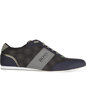 HUGO BOSS Lighter influence lace up trainers