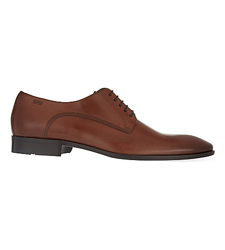 HUGO BOSS Nos Carmons Derby shoes (Tan