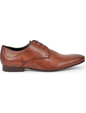 KG KURT GEIGER Travis leather derby shoes