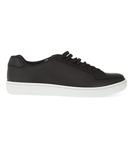 CHURCH Mirfield leather trainers (Black