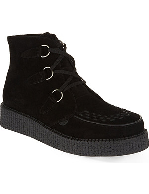 UNDERGROUND Wulfrun high-top creepers