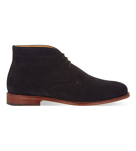 PAUL SMITH Morgan chukka boots (Navy