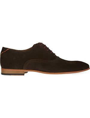 PAUL SMITH Starling suede Oxford shoes