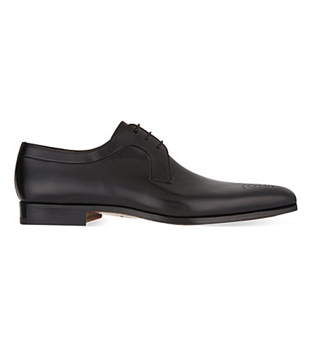 MAGNANNI Punch toe Derby shoes (Black