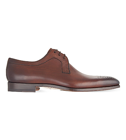 MAGNANNI Punch toe Derby shoes (Brown