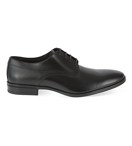 KG KURT GEIGER Atherton leather Derby shoes (Black