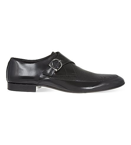 kg kurt geiger fitzroy buckle formal shoes selfridges