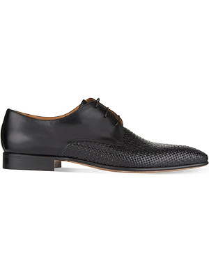 STEMAR Woven Derby shoes